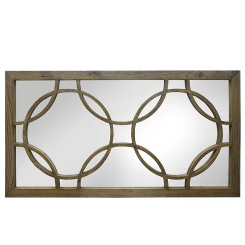 Deco Wall Mirror - Reclaimed Elm