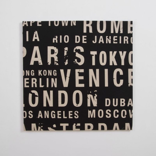Canvas Print: Big City Black