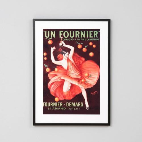 Framed Print: Un Fournier Curacao