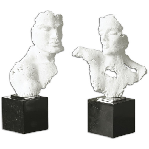 Busts Sculpture - Set of 2