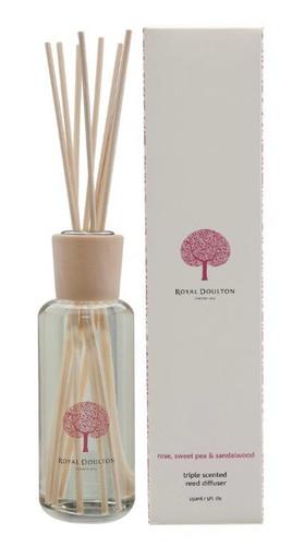 Royal Doulton 150mL Reed Diffuser - Rose, Sweet Pea & Sandalwood