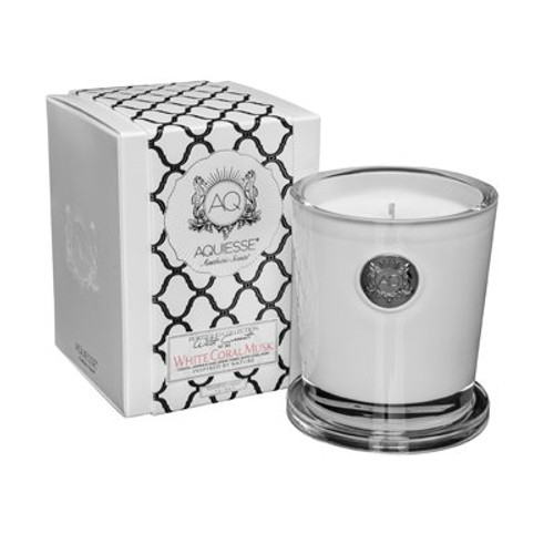 White Coral Musk - Candle Large
