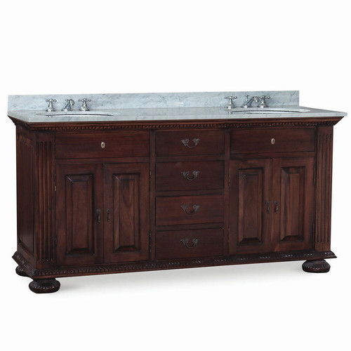 Charleston Double Vanity - Any Colour