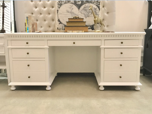 Westminster Desk - White