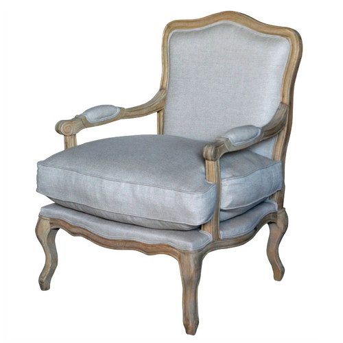 Henrietta Armchair - Weathered Oak