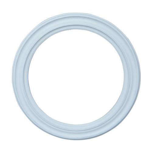 Ondine Circular Mirror - White