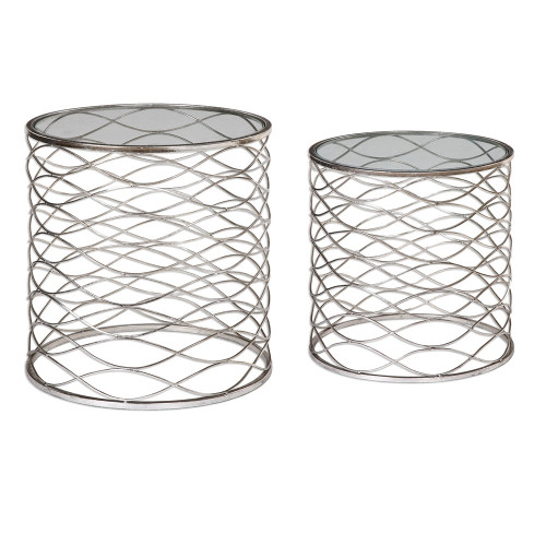 Aida Accent Tables S/2
