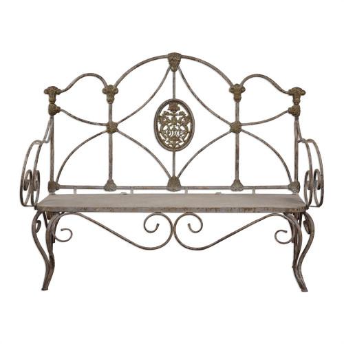 Caslon Iron Bench