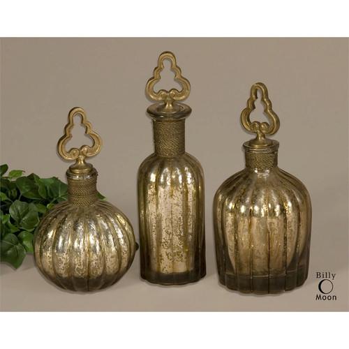 Kaho Perfume Bottles - Set of 3