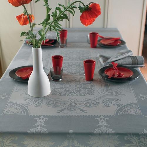 Tablecloth RENAISSANCE Argent 190x310cm