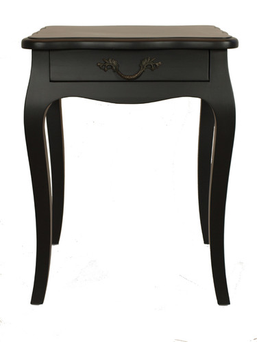 Josephine Bedside Table Small (Black)