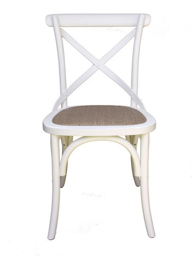 Bentwood Dining Chair (Antique White)