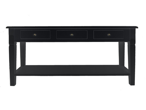 Florence Console Long (Black)