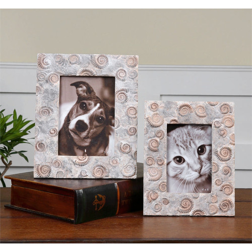 Spirula Photo Frames - Set of 2