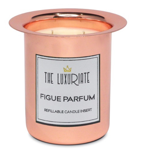 The Luxuriate Figue Parfum Candle Refill Insert