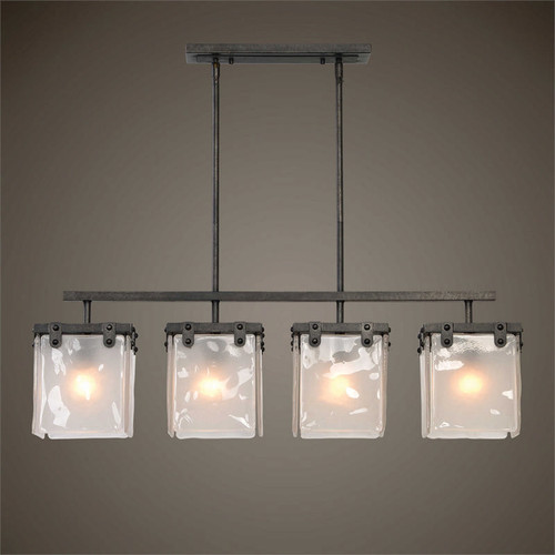 Brattleboro 4-Lamp Island Pendant Light