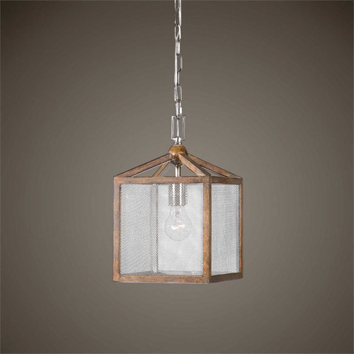 Nashua 1-Lamp Mini Ceiling Pendant Light by Uttermost