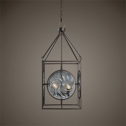 Volute 4-Lamp Ceiling Pendant Light by Uttermost
