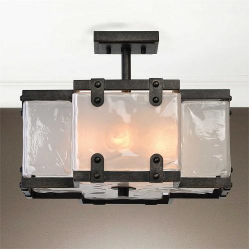 Brattleboro 4-Lamp Semi Flush Mount Light