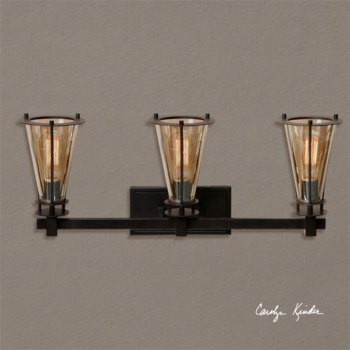 Frisco 3-Lamp Vanity Strip