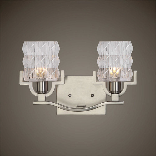 Copeman 2-Lamp Vanity Strip by Uttermost