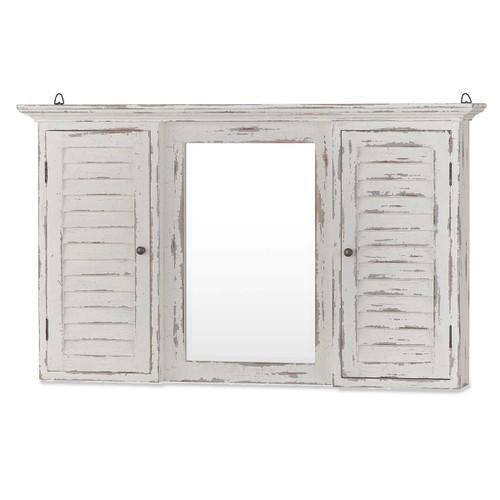 Shutter Medicine Cabinet - Size: 66H x 109W x 18D (cm)