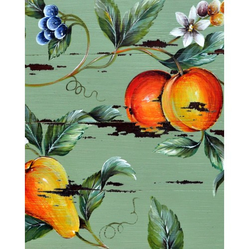 A174 Flowers, Berries, Pears & Oranges