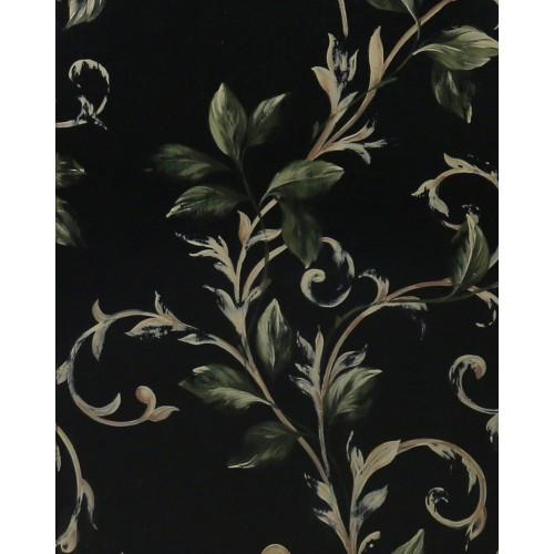 A546 Botanical Scroll