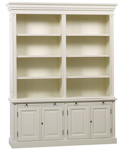 Classic 4 Door Bookcase