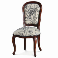Antoinette Dining Chair - Size: 100H x 48W x 56D (cm)