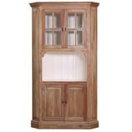 Cape Cod Corner Cabinet - Size: 213H x 119W x 56D (cm)