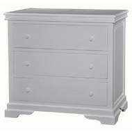 Homestead Large 3 Drawer Dresser - Size: 98H x 107W x 56D (cm)