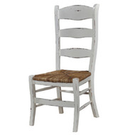 Ladder Back Dining Chair - Size: 110H x 50W x 57D (cm)