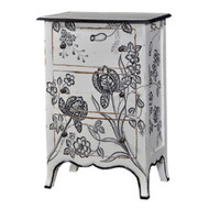 Carlyle 3 Drawer Bow Front Chest - Size: 91H x 60W x 40D (cm)