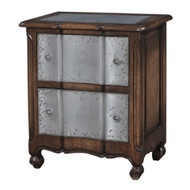 Provence Bed Side Small w/tin drawers - Size: 69H x 59W x 38D (cm)