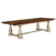 Hemmingway Dining Table 3m - Size: 76H x 298W x 120D (cm)