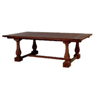 Hemmingway Dining Table 240cm - Size: 76H x 244W x 120D (cm)