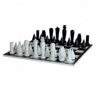 Modern Chess Set - Size: 80H x 80W x 28D (cm)