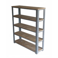 Industrial 5 Layer Bookshelf
