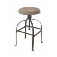 Redoute Screw Barstool - Closed