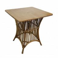 La Palma Rattan Bistro Table - Tropic Coastal style