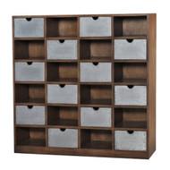 Tailors Cabinet - Size: 127H x 130W x 30D (cm)
