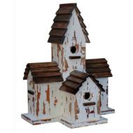 Bird House A - Size: 64H x 52W x 32D (cm)