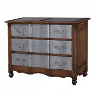 Provence 3 Drawer Dresser Large w/tin drawers - Size: 90H x 120W x 55D (cm)