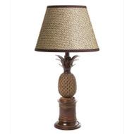 Bermuda Pineapple Table Lamp - Antique Brass