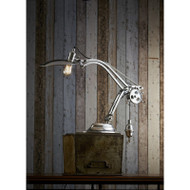 Bismarck Table Lamp - Antique Silver