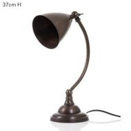 Brentwood Table Lamp - Brass Dark