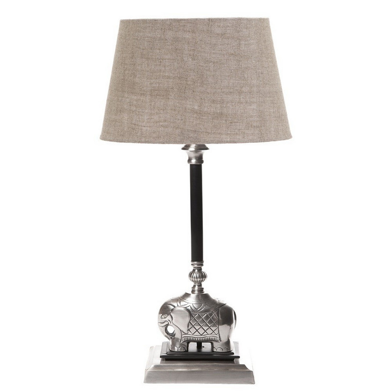 Sabu table lamp dark antique silver lighting emac for Lawton architectural products
