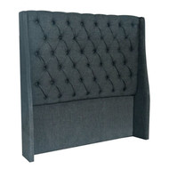 Bella House Vienna Double Headboard - Charcoal