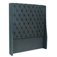 Bella House Vienna King Single Headboard - Charcoal